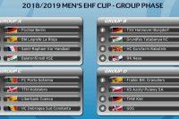 Nexe u grupi B EHF Kupa