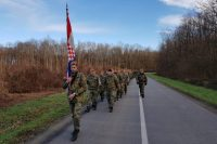"""""""Pume"""" se simboličnim pješačnjem 184 km vraćaju iz Našica u Varaždin"""