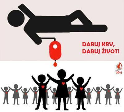 Sutra (četvrtak) u Našicama akcija darivanja krvi