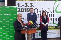 Predsjednica Kolinda Grabar Kitarović otvorila 26. Osječki proljetni sajam