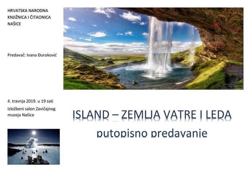 Putopisno predavanje o Islandu