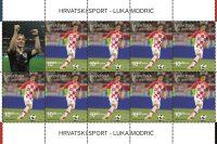 Poštanska marka posvećena Luki Modriću