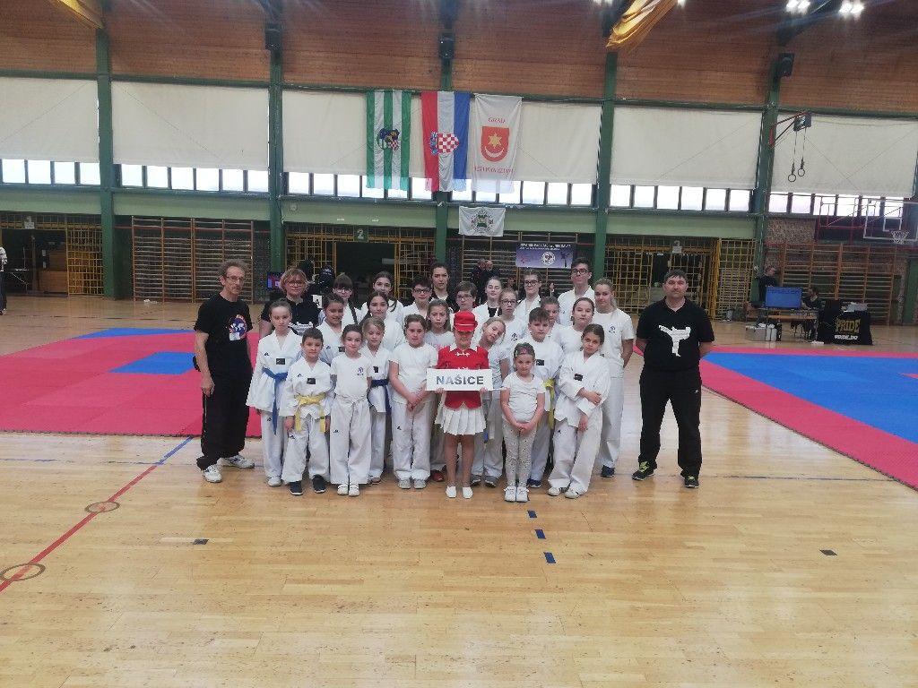 Taekwondo klub Našice nastupio na 2. Zelingrad Kupu