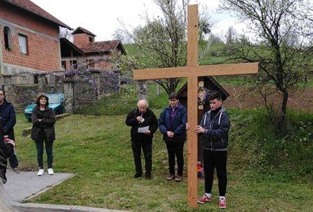 Sekcija sv. Bernarda na 25. Pleterničkom križnom putu