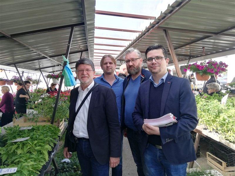 Tonino Picula –  SDP-ov nositelj liste za EU parlament posjetio Našice