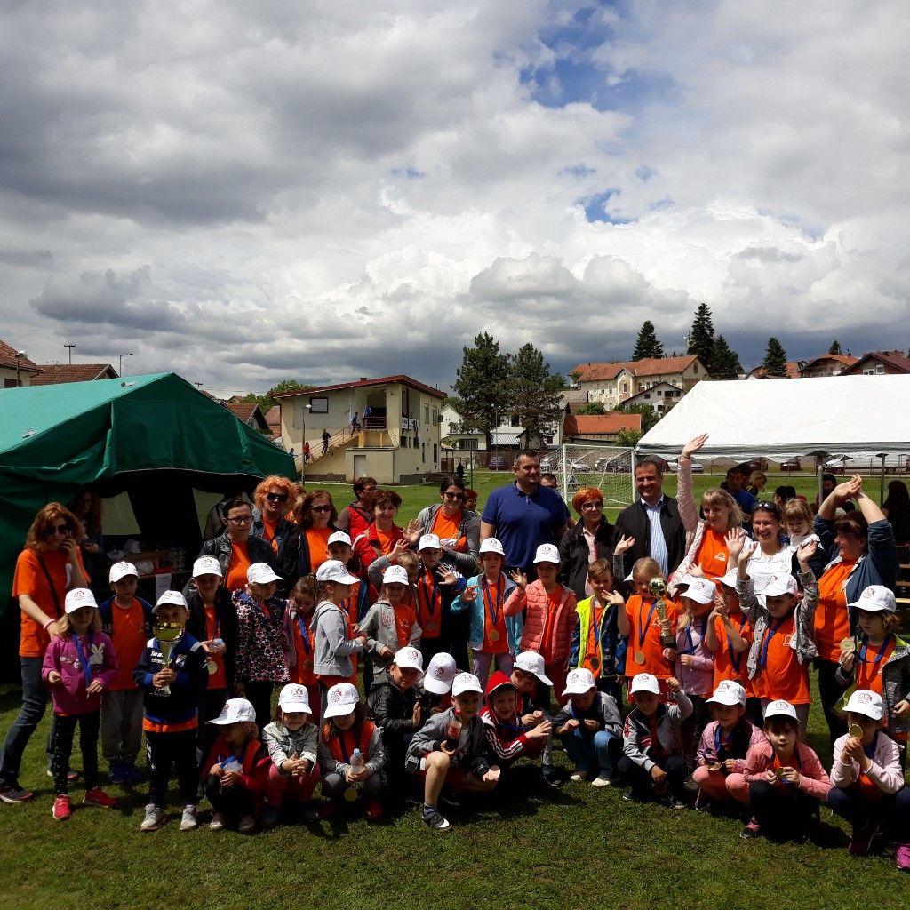 Dječji vrtić Zvončić Našice pobjednik 18. Olimpijskog festivala dječjih vrtića OBŽ