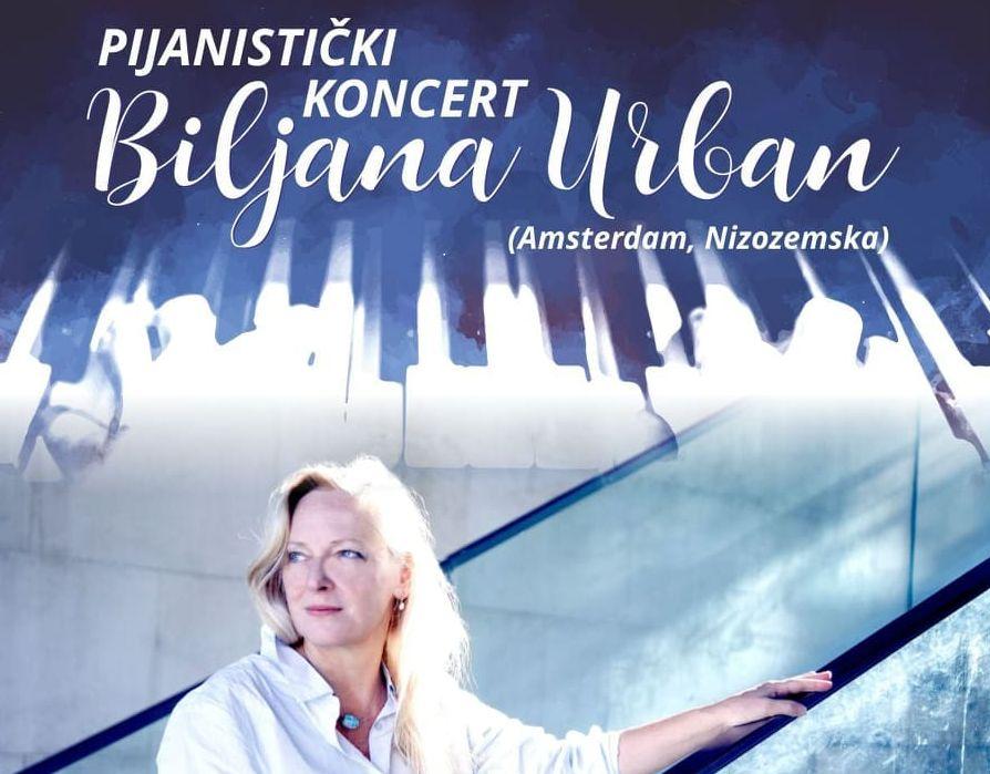 Koncert pijanistice Biljane Urban