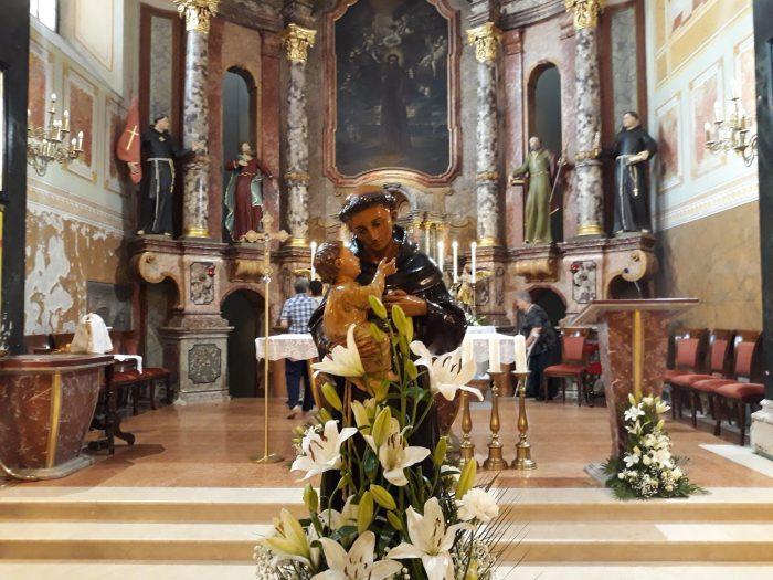Našice danas slave svoj dan i svog zaštitnika sv. Antuna Padovanskog