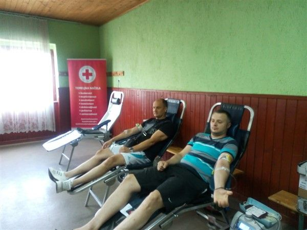 Akciji se odazvalo 50 darivatelja krvi