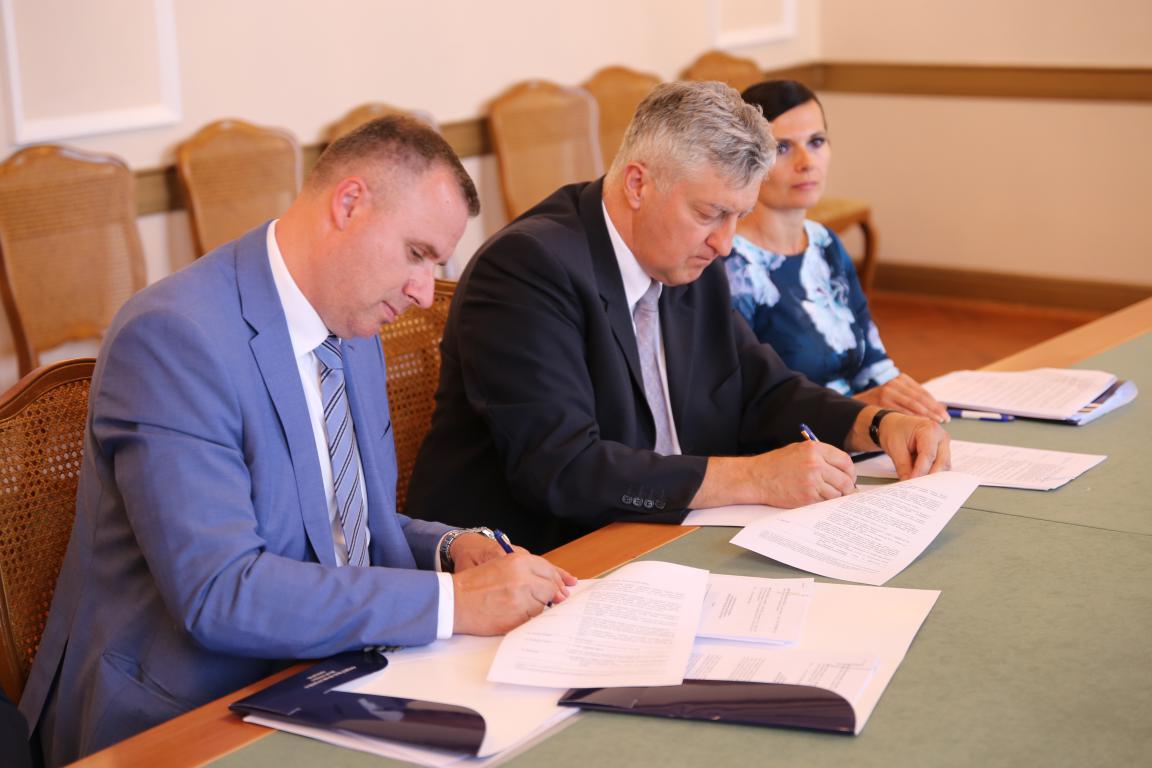 U prostorijama Osječko baranjske županije potpisan treći sporazum o suradnji s HBOR-om