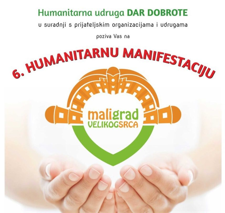 "6. Humanitarna manifestacija ""Mali grad velikog srca"""
