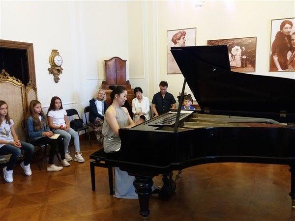 Koncert u spomen sobi Dore Pejačević