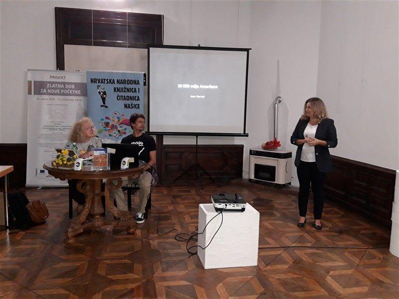 U Našicama počeo program Mjeseca hrvatske knjige