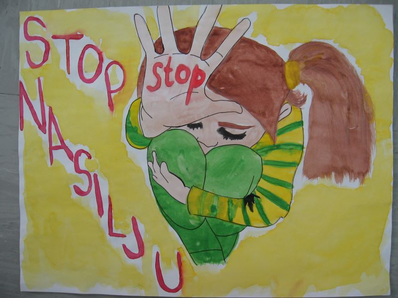 """Likovni natječaj """"Dan tolerancije – stop nasilju"""""""