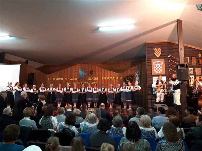 U Markovcu održan 21. festival slovačke glazbe i pjesama u RH