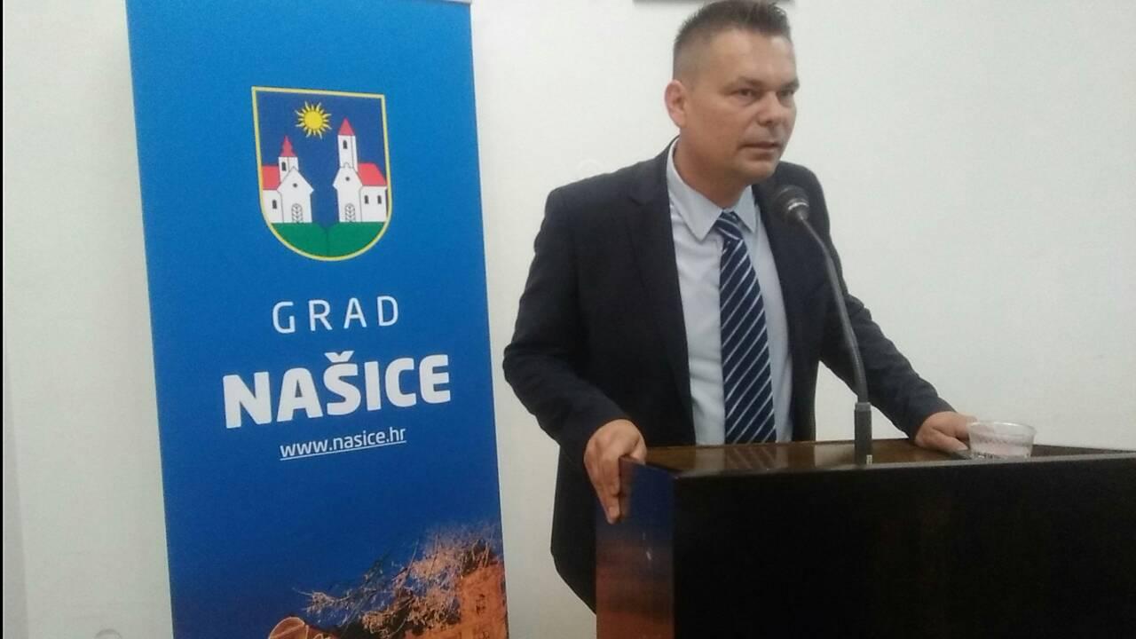 Krešimir Kašuba – predsjednik GO HDZ Našice