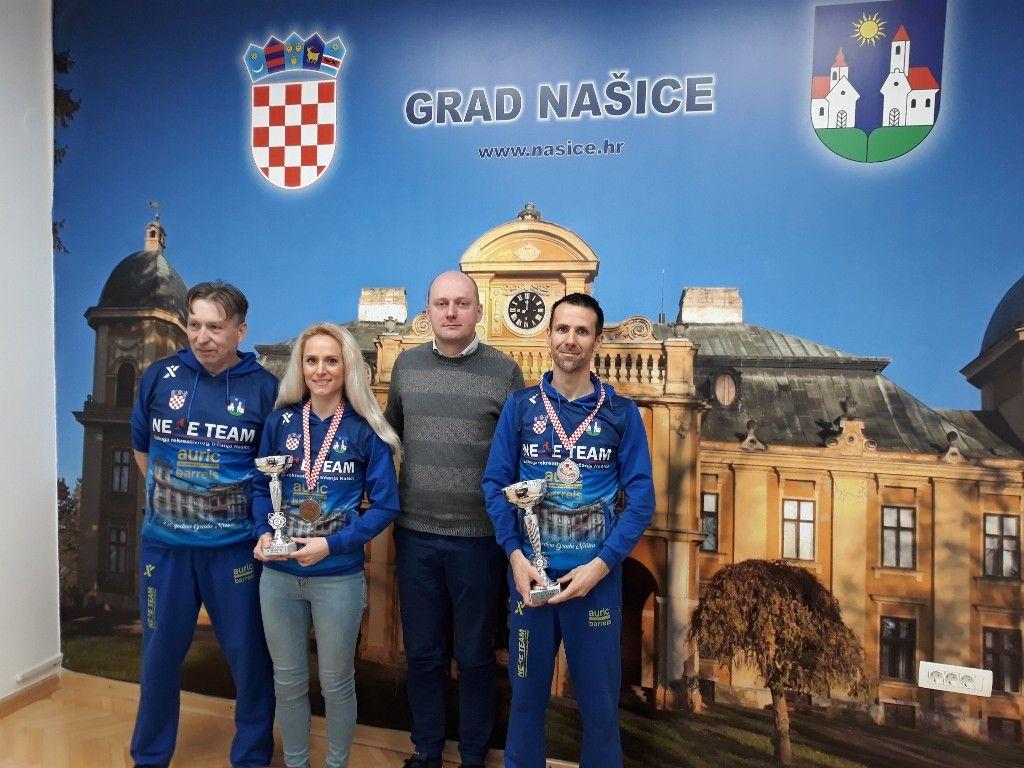 Gradonačelnik primio članove URT Nexe Team Našice
