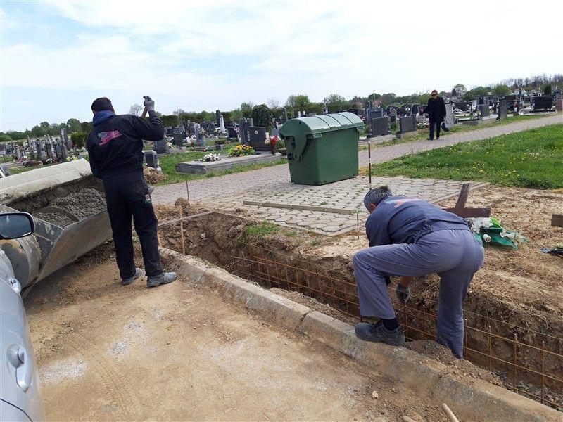Na području Općine Đurđenovac, uređuju se groblja