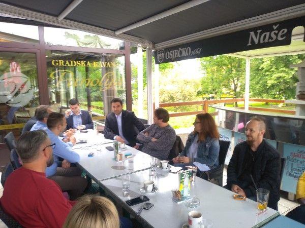 Predsjednik SDP-a jučer posjetio Našice