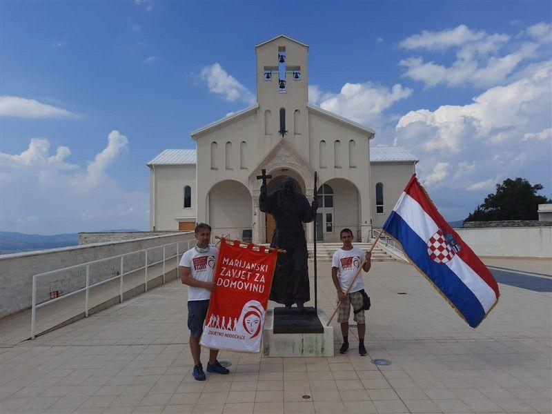 Završeno je zavjetno hodočašće Bratovštine Marijanski zavjet za Domovinu