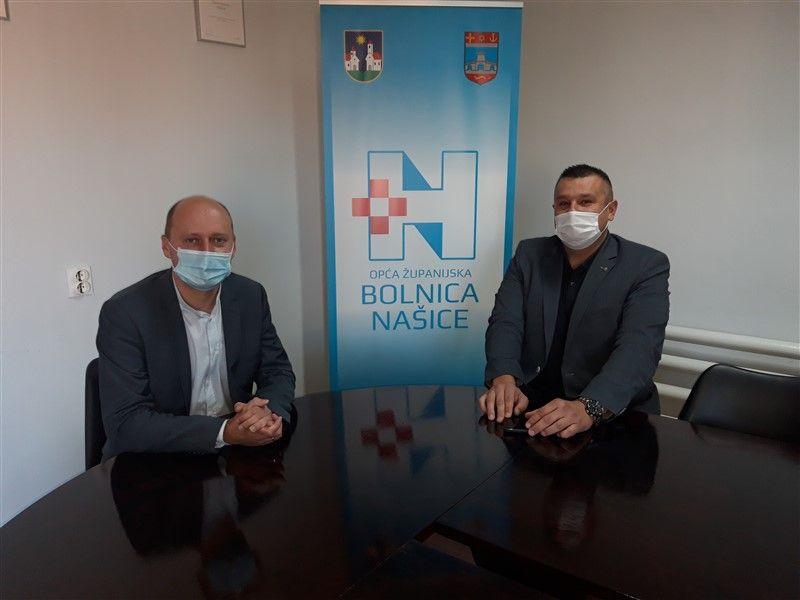 Grad Našice donirao opremu Općoj županijskoj bolnici Našice
