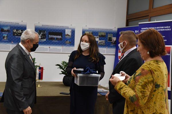 Slovački veleposlanik Peter Susko posjetio Slovački centar za kulturu Našice