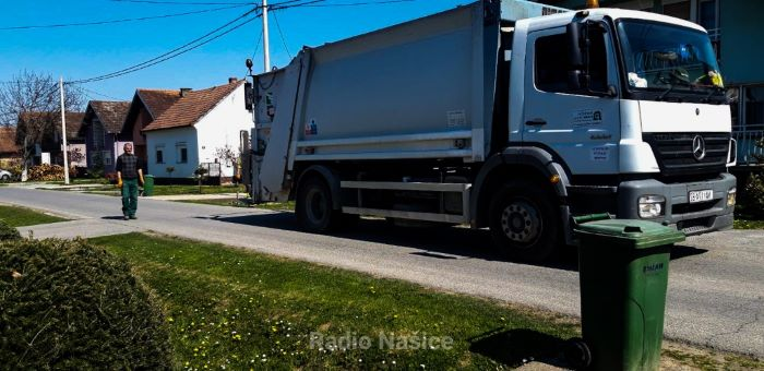 Na Uskrsni ponedjeljak redoviti odvoz kućnog otpada