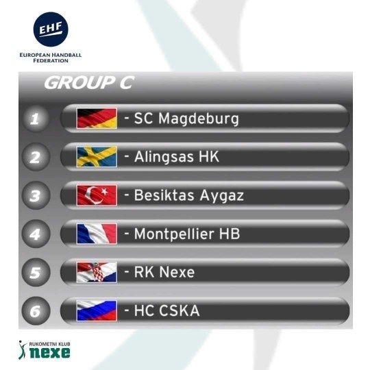 Večeras 3. kolo EHF Euro lige – NEXE dočekuje Montpellier HB