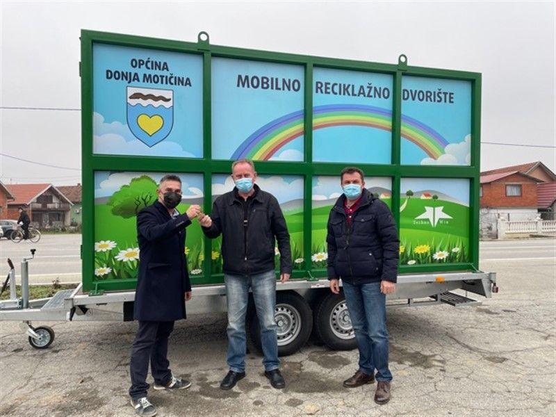 Mobilno reciklažno dvorište u Donjoj Motičini