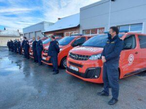 Grad Našice donirao je 7 novih vatrogasnih vozila