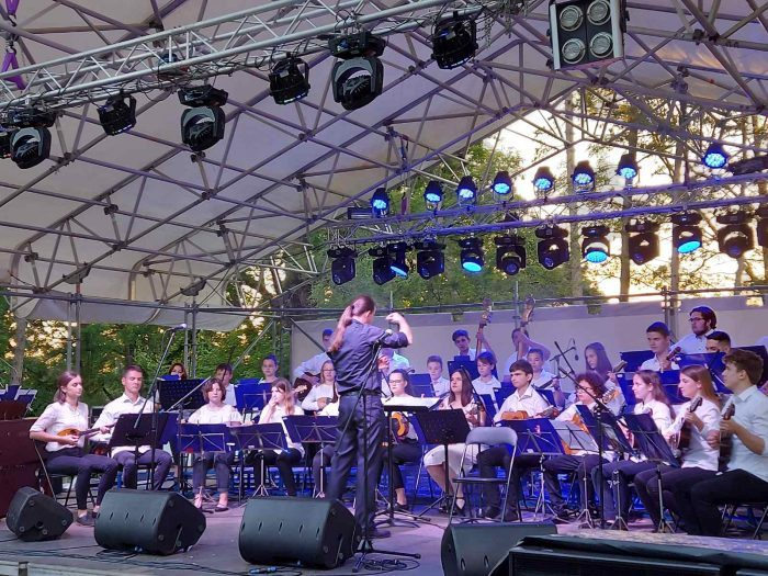 "Svečani koncert tamburaškog orkestra, rock banda ""Contessa"" i solista"