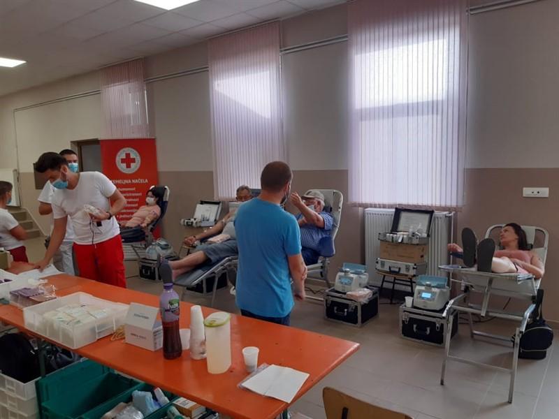 Jučer održane akcije dobrovoljnog darivanja krvi u Našicama i Feričancima