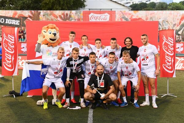 Na Plazma Sportskim igrama mladih u Splitu Slavonci se okitili srebrom u nogometu