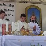 U Markovcu Našičkom danas je mladu misu imao vlč. Marko Gerendaj