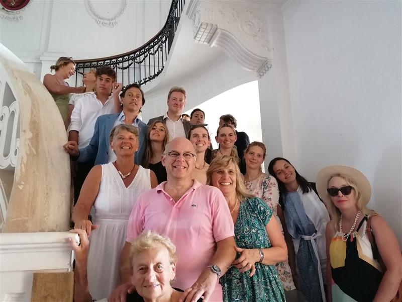 Članovi obitelji Pejačević u posjetu Našicama – primio ih gradonačelnik Krešimir Kašuba