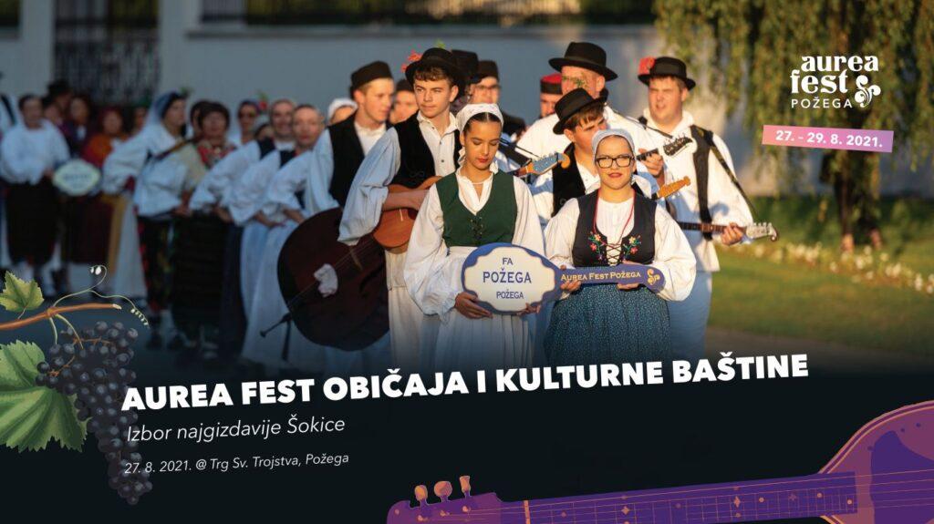 Od 27. do 29. kolovoza u Požegi se održava Aurea Fest