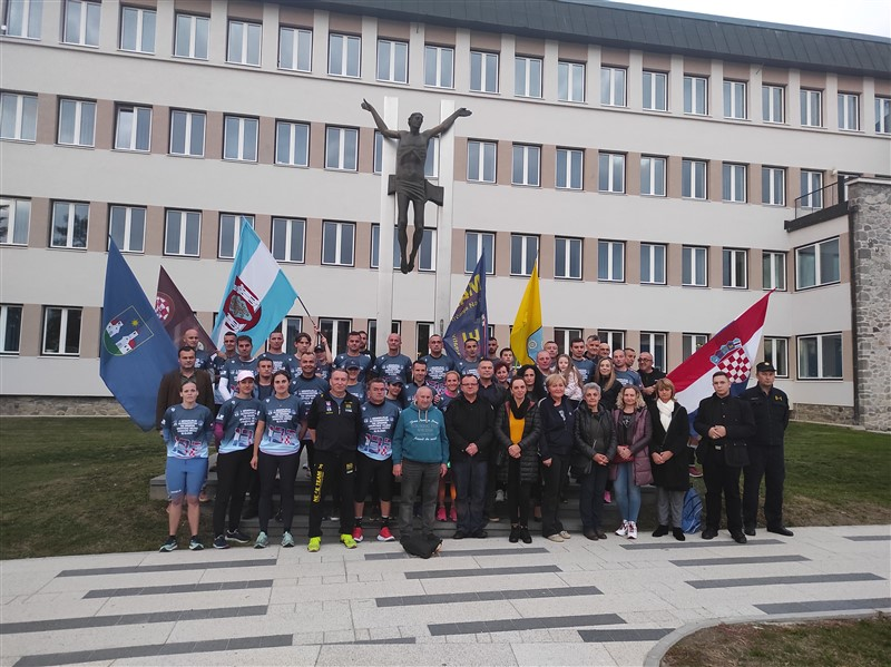 "Održan 1.Memorijalni ultramaraton ""132.brigade Hrvatske vojske"""